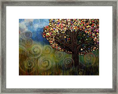Button Tree 0003 Framed Print