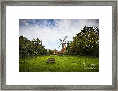 Buttrums Mill Framed Print by Svetlana Sewell