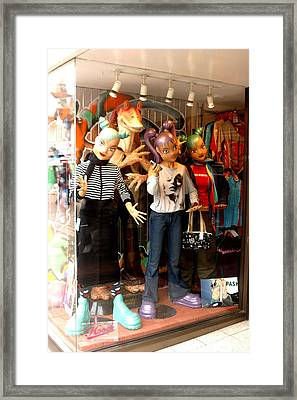 Buy A Teen Party Here Framed Print by Jez C Self