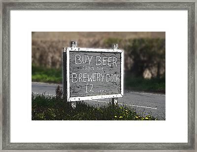 Buy Beer Framed Print