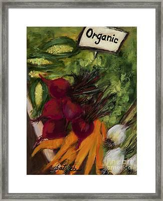 Buy Fresh Organic Produce Framed Print
