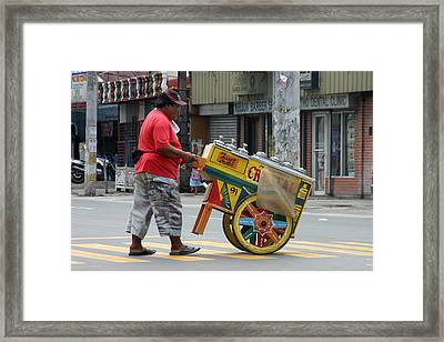 Buy Me And Stop One Framed Print by Jez C Self