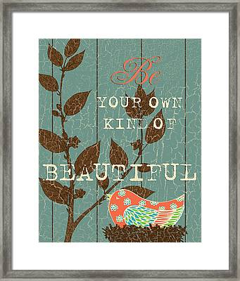 Buyout Own Kind Framed Print
