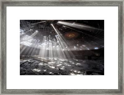 Buzludzha Framed Print by Milen Dobrev