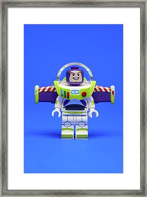 Buzz Framed Print by Samuel Whitton