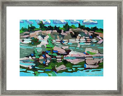 Buzzard Lake West Shore Framed Print