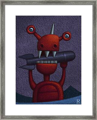 Buzzkill  Framed Print
