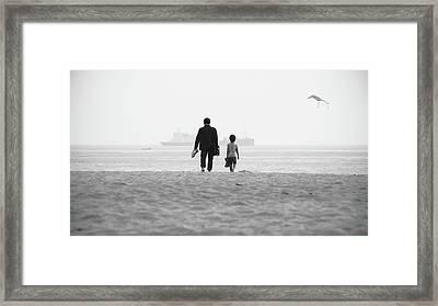 Bw 044 Framed Print by Kam Chuen Dung