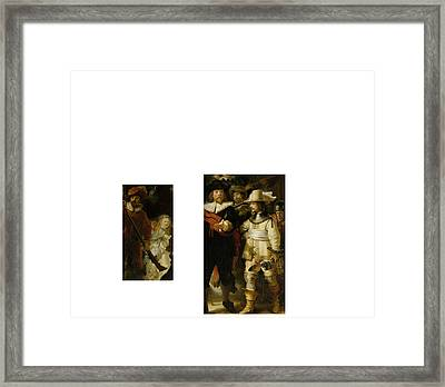 Bw 2 Rembrandt Framed Print by David Bridburg