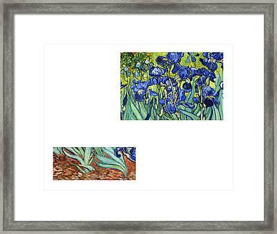 Bw 6 Van Gogh Framed Print by David Bridburg