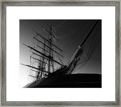 Bw Series Cutty Sark Five Framed Print