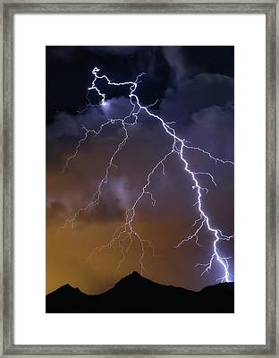 By Accident Framed Print