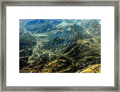 By Air Framed Print by Don Prioleau