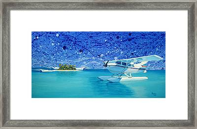 By Air Framed Print by Patrick Parker
