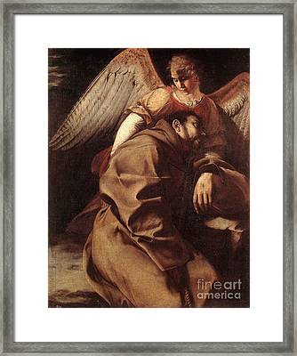 By An Angel Framed Print by MotionAge Designs