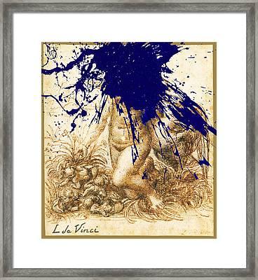 By Da Vinci Framed Print