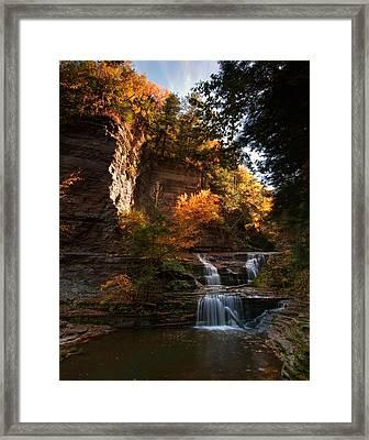 By Dawn's Early Light Framed Print by Neil Shapiro