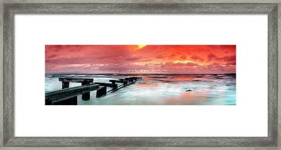 By-gone Remnants Framed Print by Sean Davey