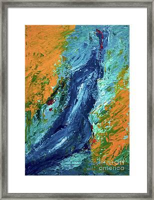 By Herself 2 Framed Print