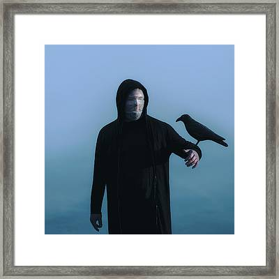 By My Side Framed Print by Art of Invi