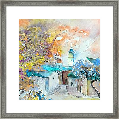 By Teruel Spain 03 Framed Print by Miki De Goodaboom