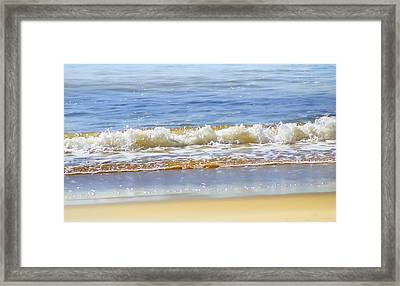 By The Coral Sea Framed Print