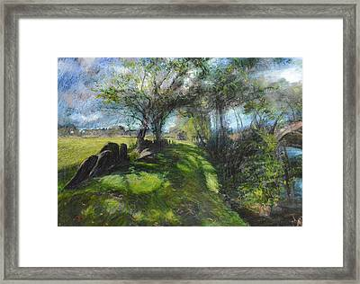 By The Dee Framed Print