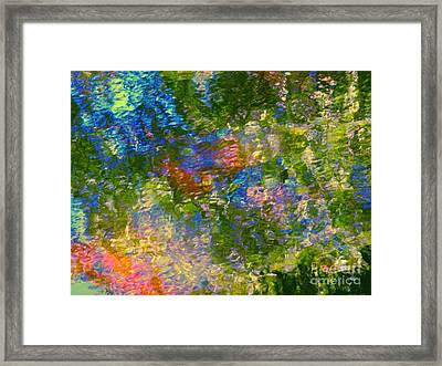 By The Hand Of God Framed Print