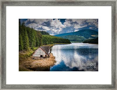 By The Lake Framed Print by Gabriela Insuratelu