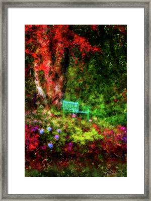 By The Lakeshore Framed Print