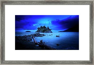 Framed Print featuring the photograph By The Light Of The Moon by John Poon