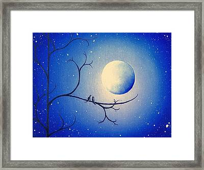 By The Night Framed Print by Rachel Bingaman