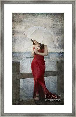 By The Northport Sea Framed Print
