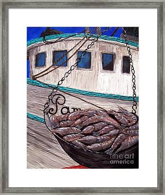 By The Pound Framed Print