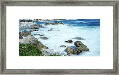 By The Sad Sea Waves Framed Print by Dennis Bolton