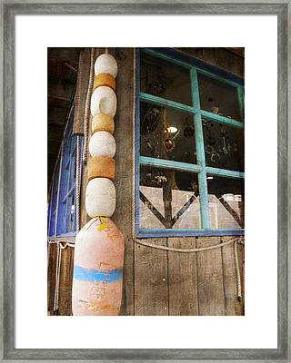 Framed Print featuring the photograph By The Sea by Fran Riley