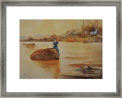By The Sea  Framed Print by Lise PICHE