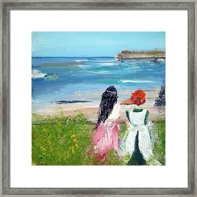 By The Shores By Colleen Ranney Framed Print