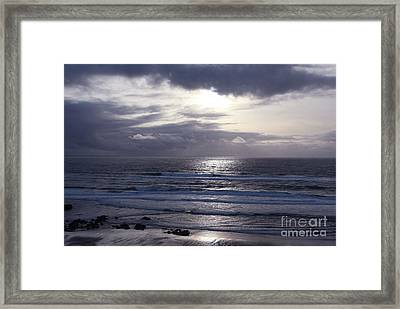 By The Silvery Light Framed Print