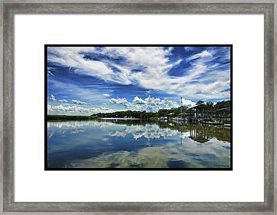 By The Still River Framed Print