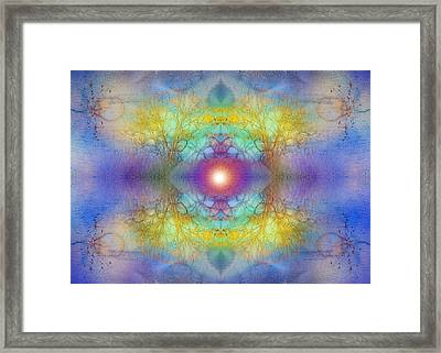By The Tarnished Light Of The Moon Framed Print by Tara Turner