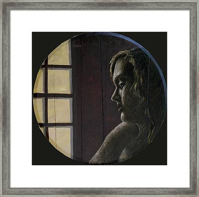By The Window Framed Print by Ralph Papa