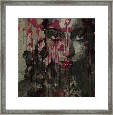 Bye Bye Blackbird Framed Print by Paul Lovering
