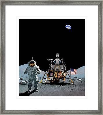 Mankind's Greatest Endeavor  Framed Print by Joe Roselle
