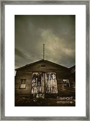 Bygone Farmstead  Framed Print by Jorgo Photography - Wall Art Gallery