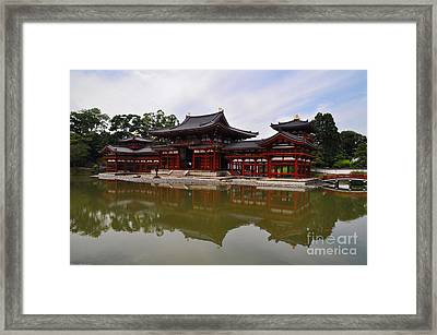 Byodoin Temple Framed Print