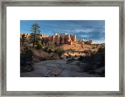 Byrce Canyon Sunrise Utah Framed Print