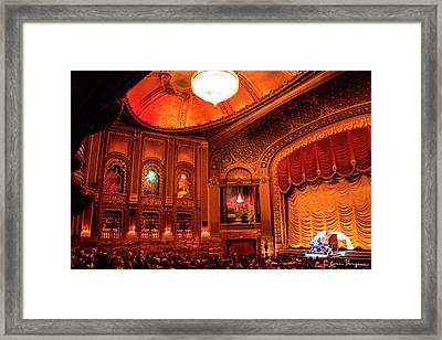 Byrd Theatre Organist II Framed Print