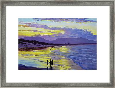 Byron Bay Sunset Framed Print