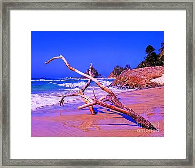 Byron Beach Australia Framed Print by Chris Smith